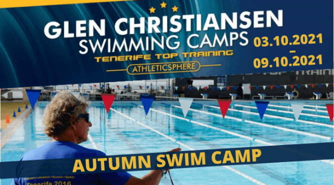 October's youth and master swim camp